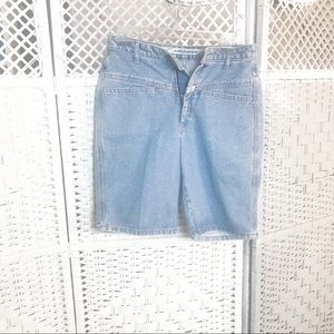 Marithe & francois girbaud high waist shorts 7/8